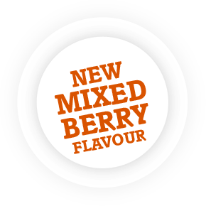 New Mixed Berry flavour